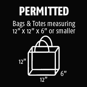 Bags Permitted