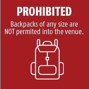 Bags Prohibited
